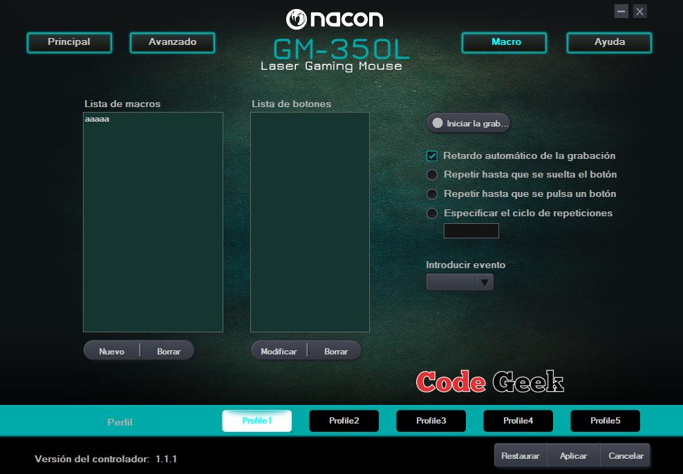 RAton Nacon GM-350L