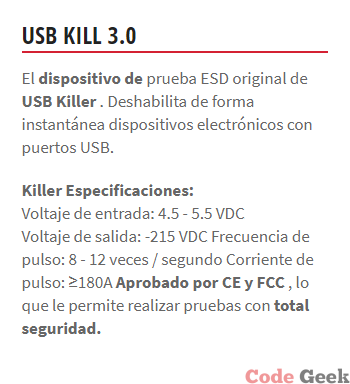 USB KILLER - El Asesino De Dispositivos