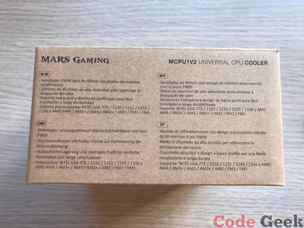 Mars Gaming MCPU1V2 Review en Español (Análisis completo)