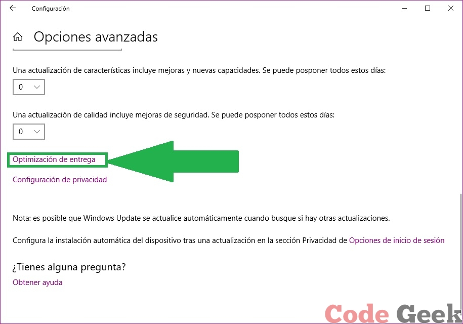 Deshabilitar actualizaciones en Windows 10
