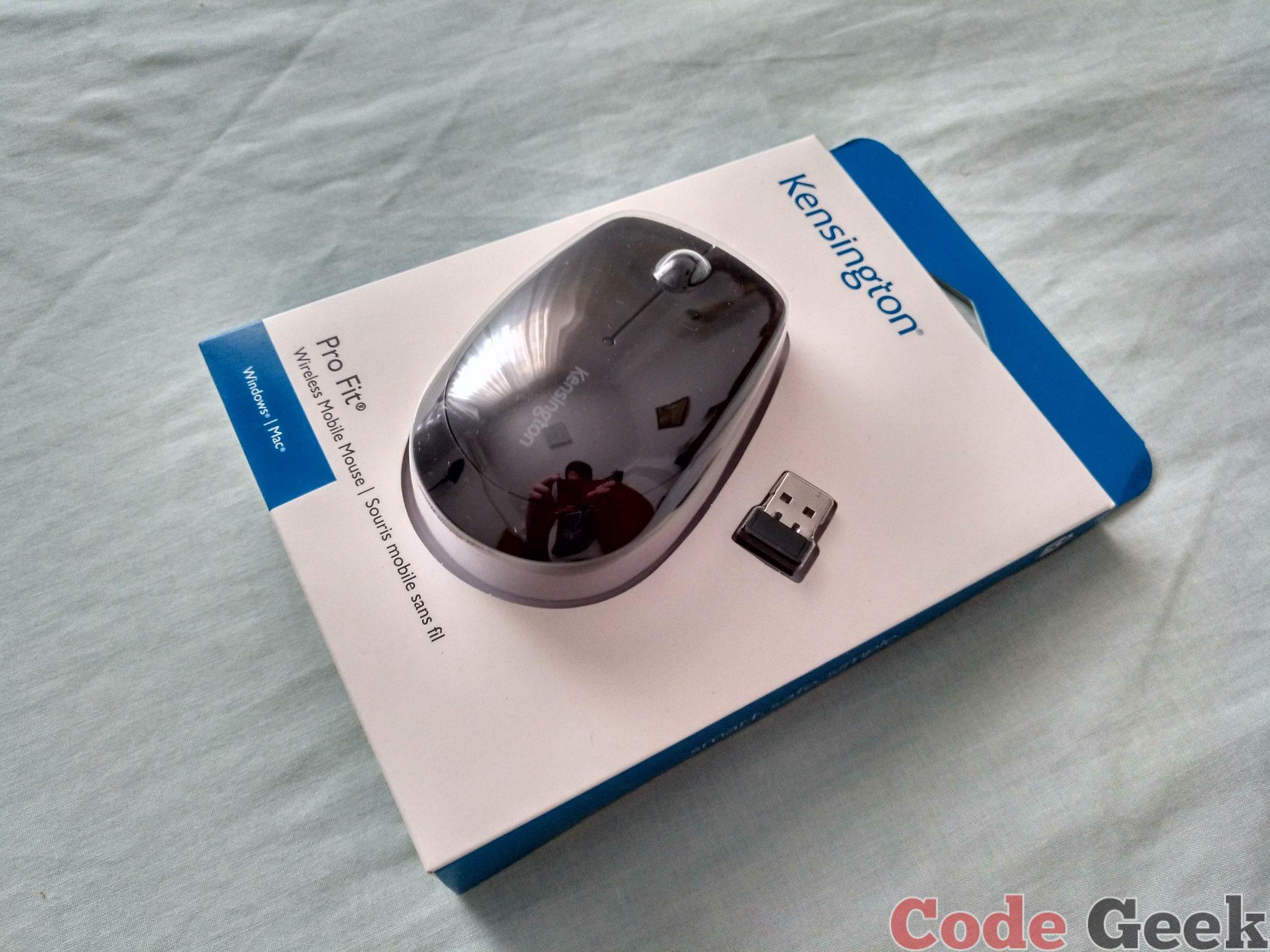 Ratón inalámbrico Pro Fit® Wireless Mobile Mouse de Kensington Review