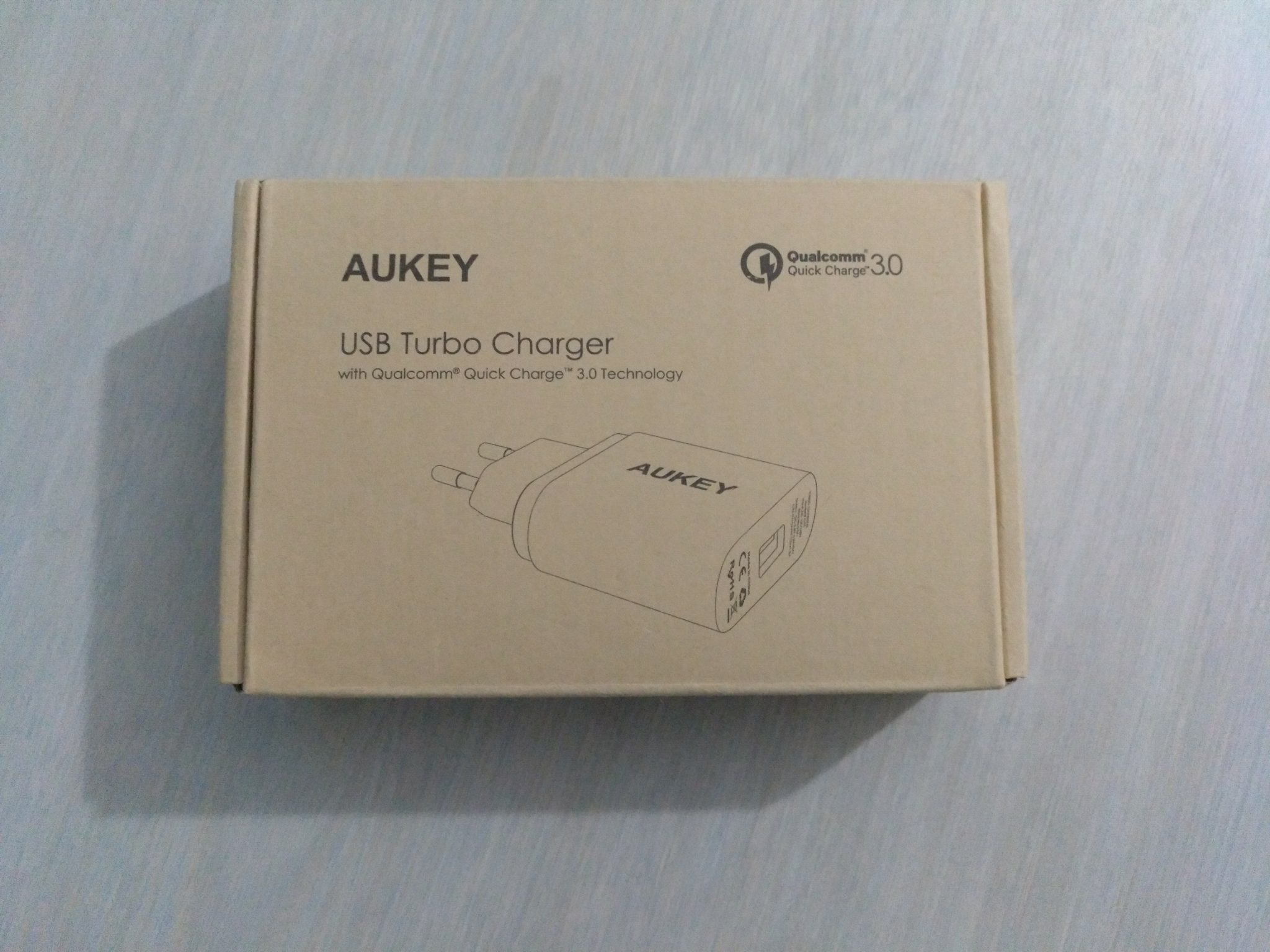 Cargador AUKEY Quick Charge 3.0 de Red 18W
