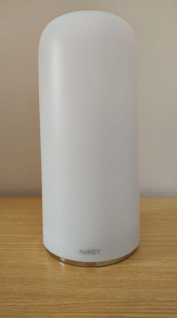 AUKEY Lámpara de mesa Lámpara de Noche Táctil con Luz Blanca