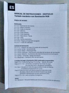 TECLADO MECÁNICO RGB DEEP GAMING DEEPSOLID - Review en Español