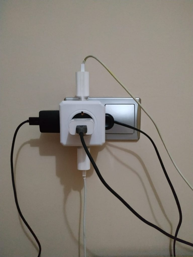 Regleta PowerCube 5 Tomas  de Allocacoc