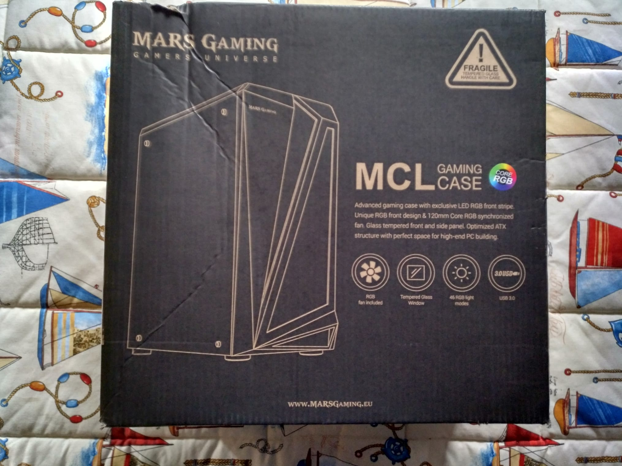 Semitorre Mars Gaming MCL Review en Español