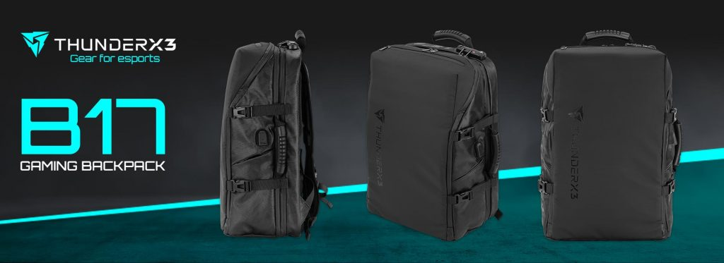 THUNDERX3 presenta la mochila Gamer Definitiva