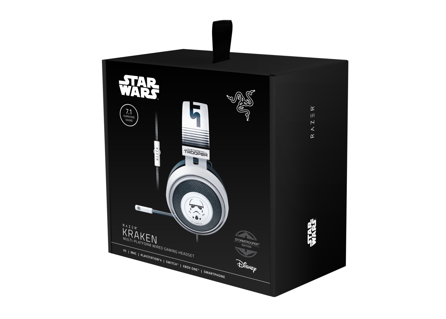 NdP - Muestra tu lealtad al Imperio Galáctico con los auriculares Kraken Stormtrooper™ Edition
