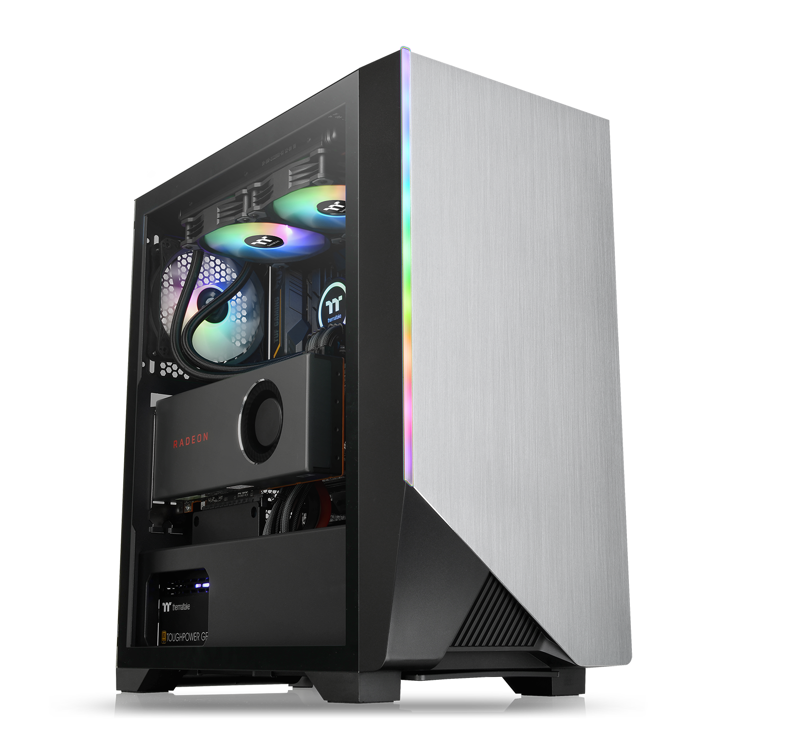 NdP - Thermaltake H550 TG ARGB Mid-Tower Chassis