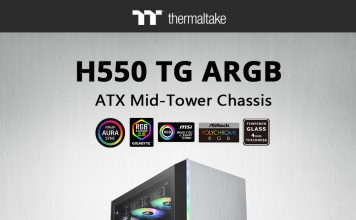 NdP – Thermaltake H550 TG ARGB Mid-Tower Chassis