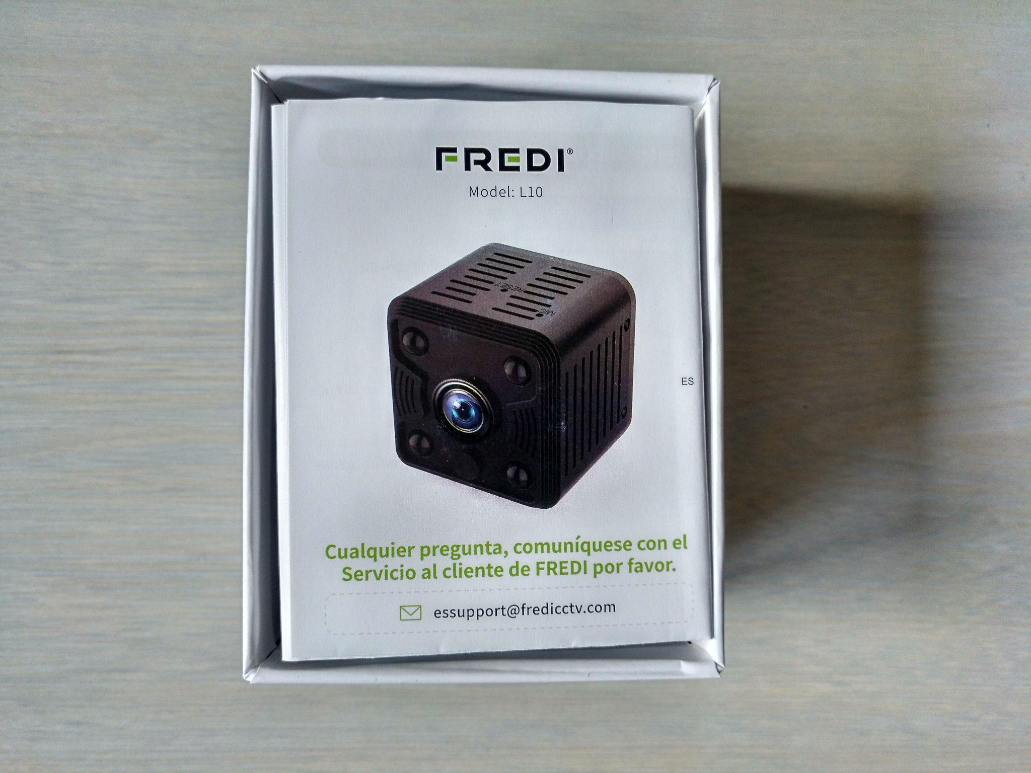 Cámara espía FREDI HD 1080P WiFi