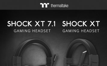 """Los nuevos """"Shock XT 7.1"""" y """"Shock XT Gaming Headsets"""" de Thermaltake"""