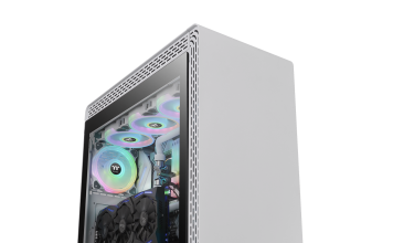 Thermaltake S500 Tempered Glass Snow Edition Mid-Tower Chassis – NdP