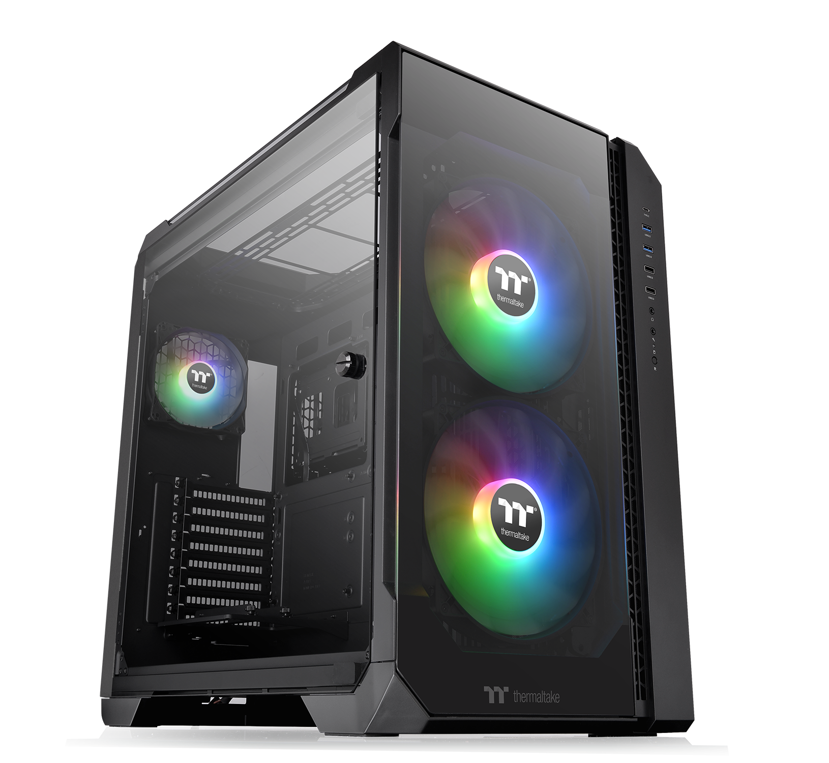 Thermaltake View 51 Tempered Glass ARGB Edition Full-Tower Chassis – NdP