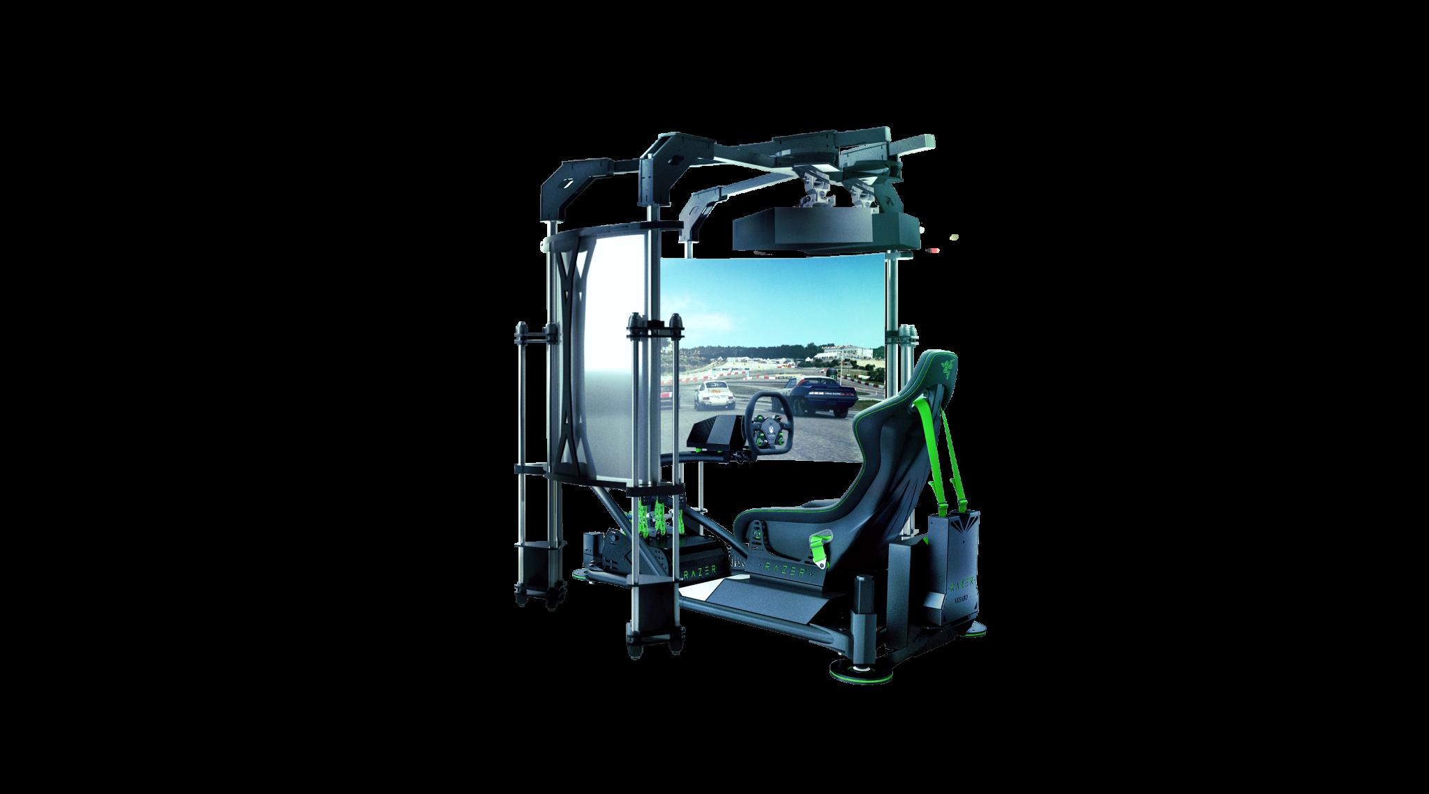 Razer eRacing Simulator, TOMANDO LA POLE EN LA CATEGORÍA DE ESPORTS EN SIMULADORES ERACING - NdP