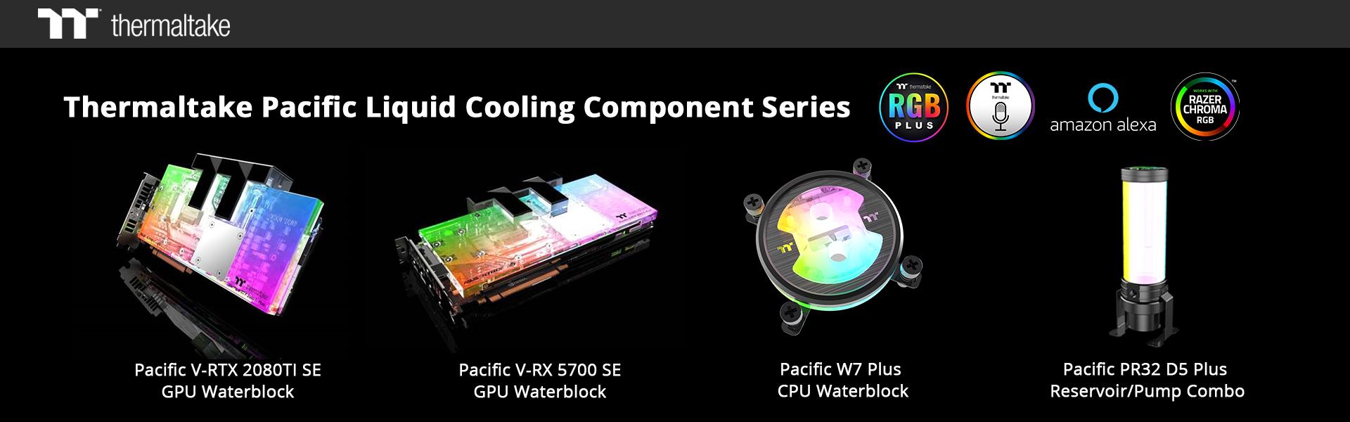 Thermaltake lanzó los componentes de refrigeración líquida de gama alta de la serie Pacific - NdP