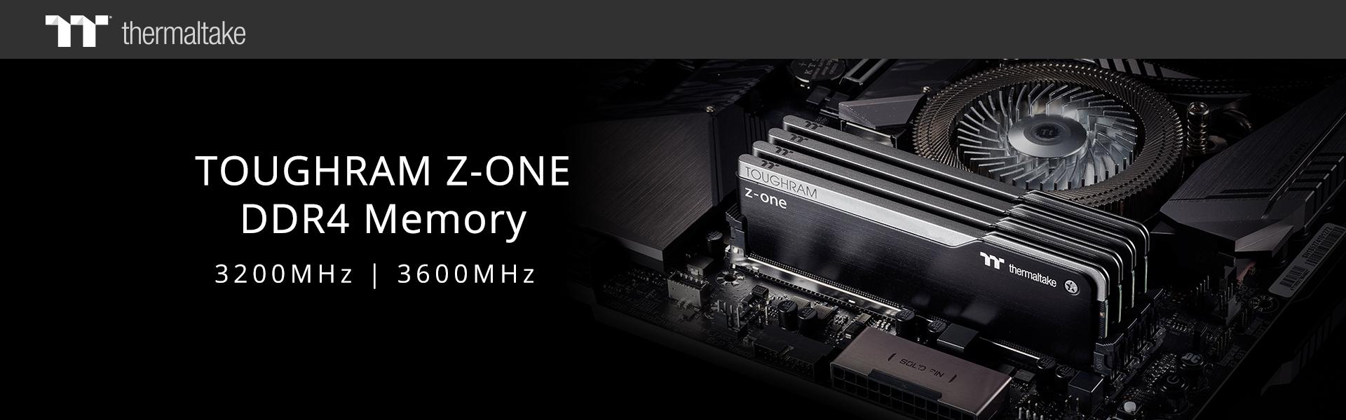 Thermaltake lanza la serie de memorias TOUGHRAM Z-ONE: 3200 / 3600MHz
