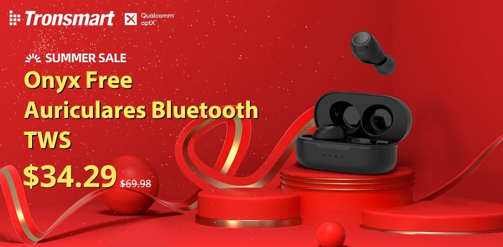 ¡Tronsmart lanza su tercer modelo de Auriculares Gaming en la promoción 6.18 de AliExpress!