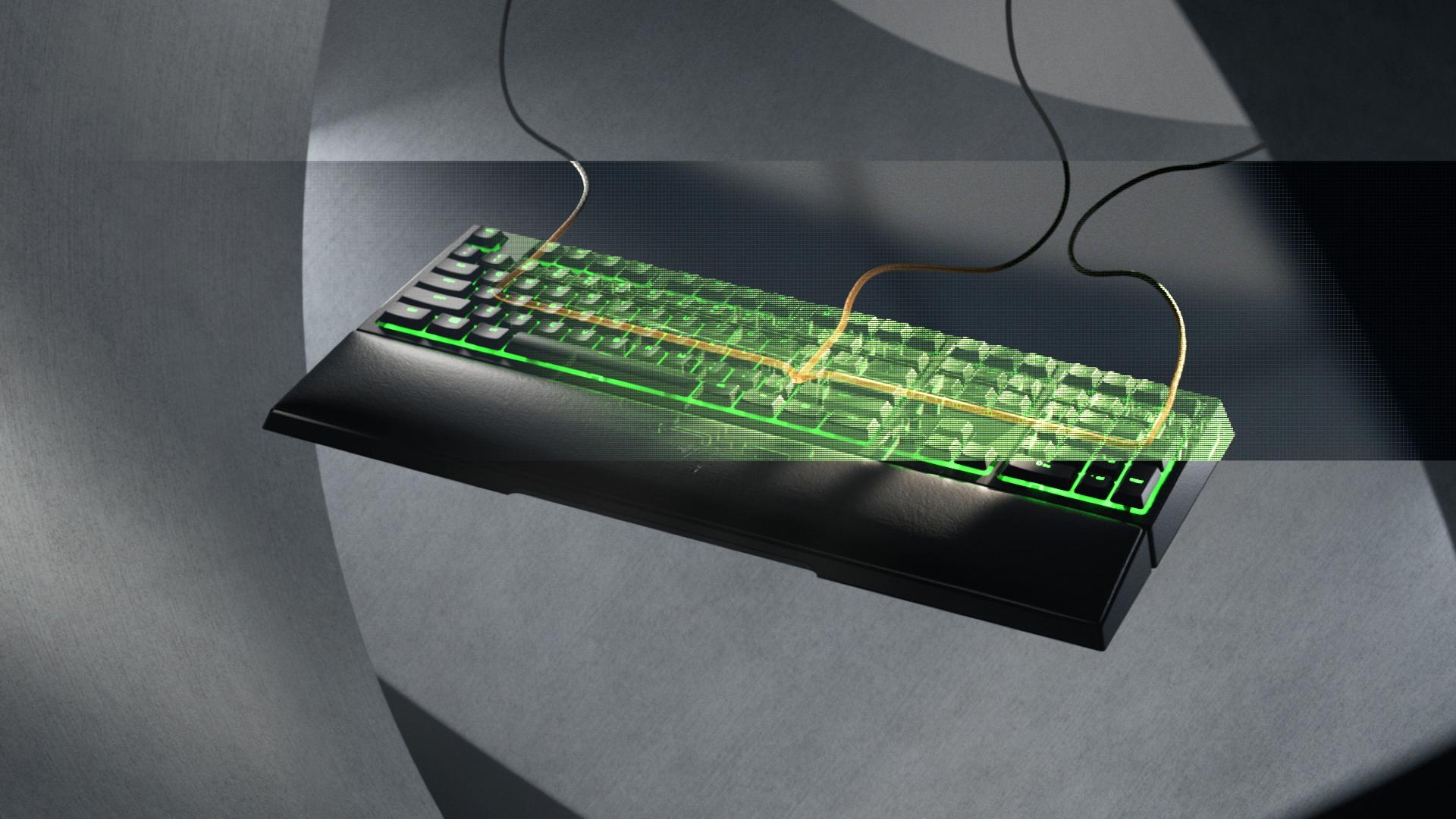 Disfrutar la ventaja hibrida con el nuevo teclado Razer Ornata V2