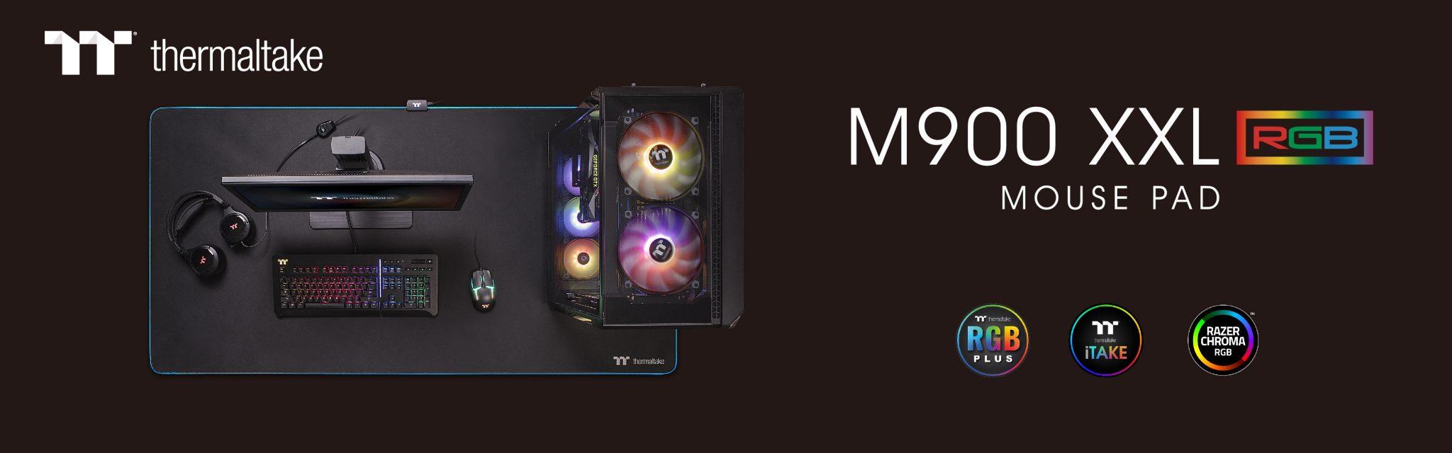 Alfombrilla de ratón Thermaltake M900 XXL RGB - NdP
