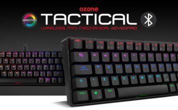 Ozone lanza Tactical, su primer teclado mini, en formato 65%, con Bluetooth y RGB