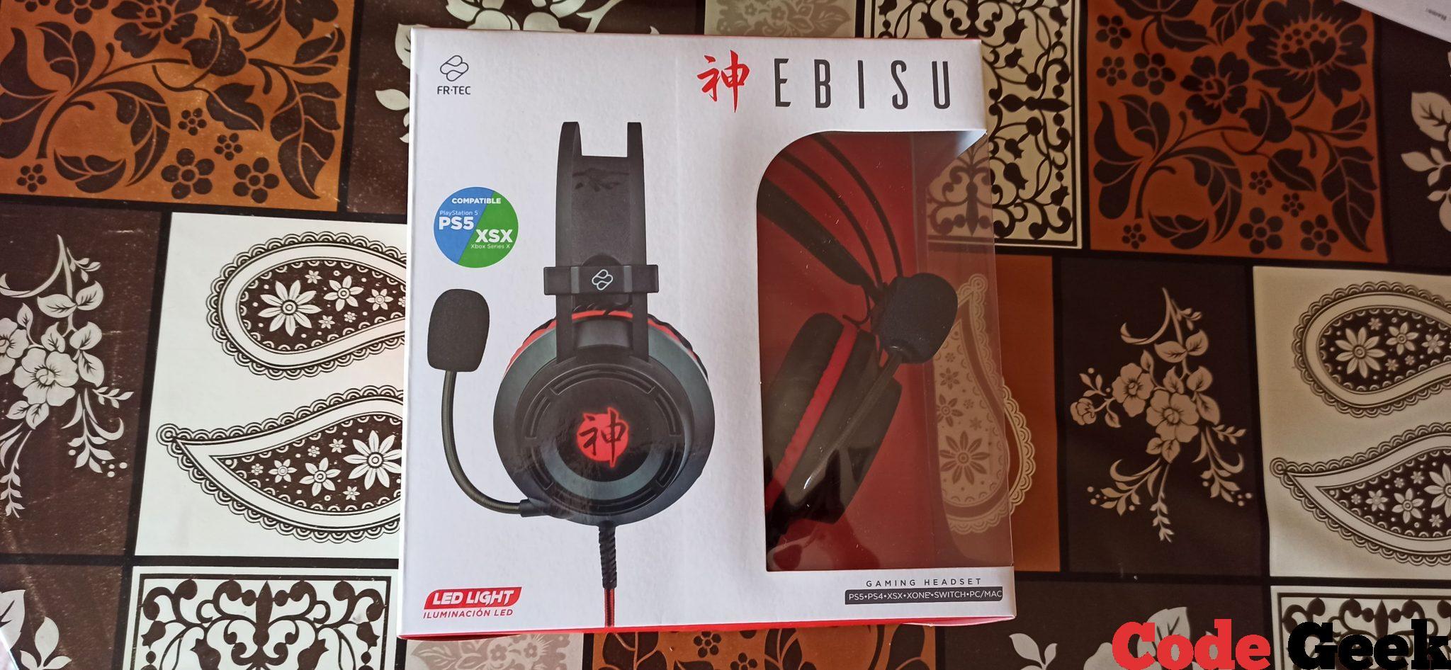 Auriculares Gaming FR-TEC EBISU - Review en Español